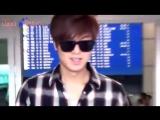 20130518 Ли Мин Хо (Lee Min Ho) в Международном аэропорту Инчхон, вернувшись из Германии. Cr Luck 2 (музыка)