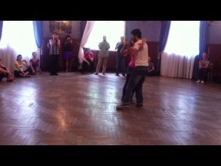 Rocio y Adrian, ревью урока фестиваля