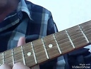 Простая мелодия для семиструнной гитары минорного строя .