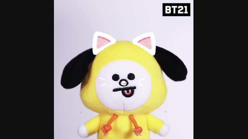You are the most beloved one,CHIMMY - Be happy today BT21