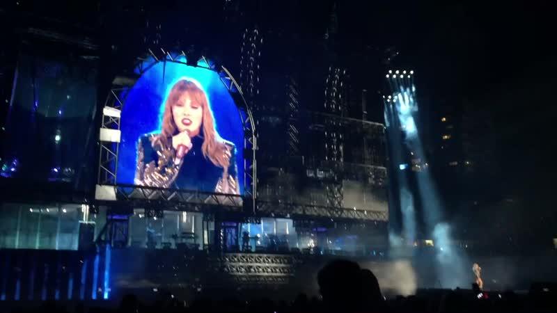 Taylor Swift - Don't Blame Me (Live at Reputation Stadium Tour, Brisbane)