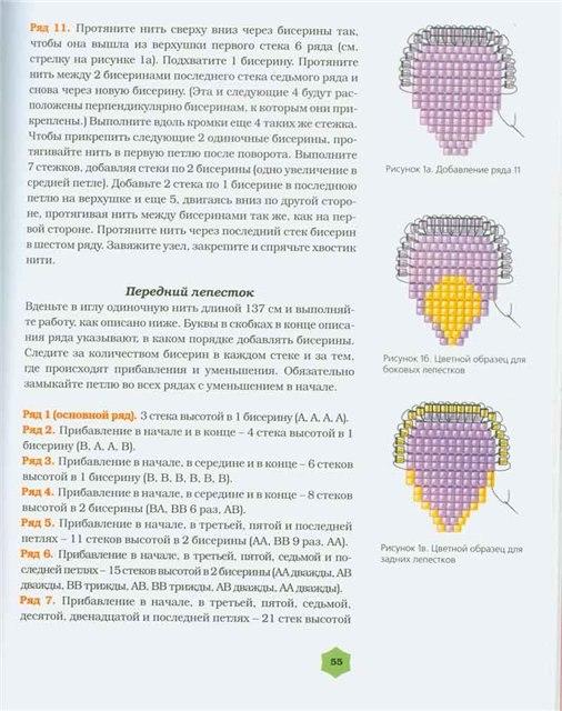 Как сделать глаз из бисера - Vdpo85.ru