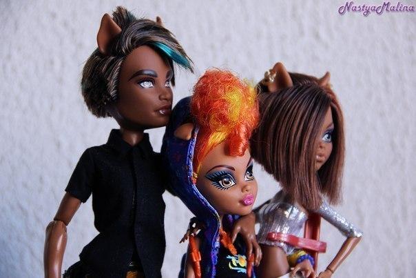 монстр хай семейка вульф куклы