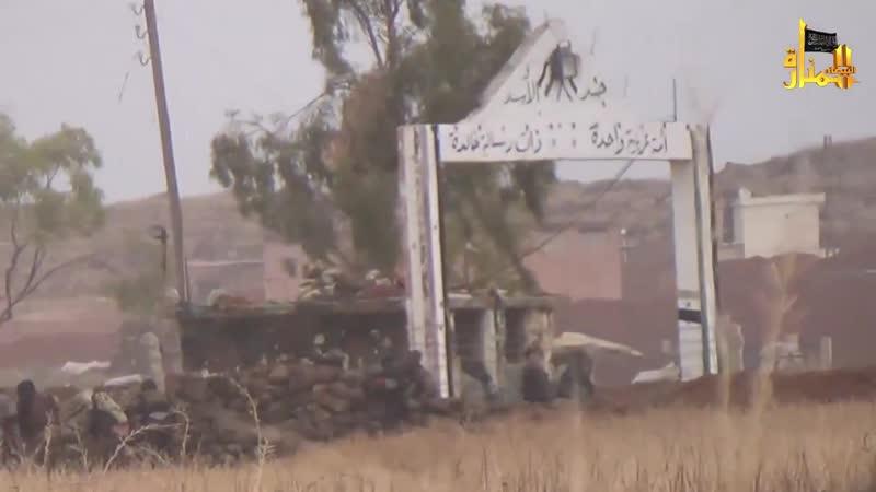 2015 07 30 -- [Al-Manarat Al-Baidha] - المنارة البيضاء - جبهة النصرة - مقتطفات من فتح كتيبة التسليح درعا