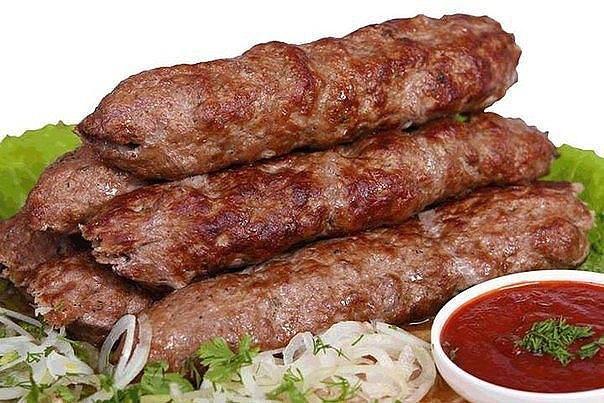 Несколько рецептов Люля кебаб из говядины, баранины,