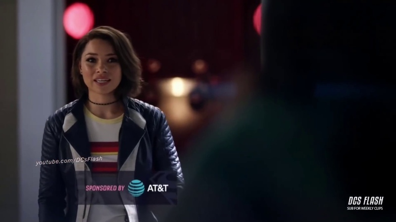 The Flash 5x01 - Nora Tells Team Flash about the Flash Museum (Part 4)
