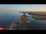 Крымский мост с Воздуха. Аршинцевская коса