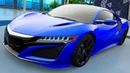 Мультики про машинки для мальчиков - Acura NSX Тест Драйв. Мультики для детей про Цветные машинки