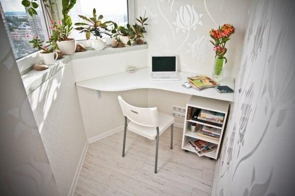 Кабинет на балконе (1 фото)