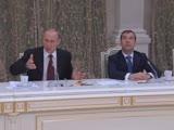 Путин сахар исчез, мяса в магазинах не было. Это было позорно! Стыдоба какая то просто! обещали и к чему это привело (2011)