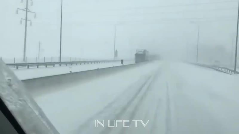 Снегопад в Ростовской области усилится до опасной отметки.