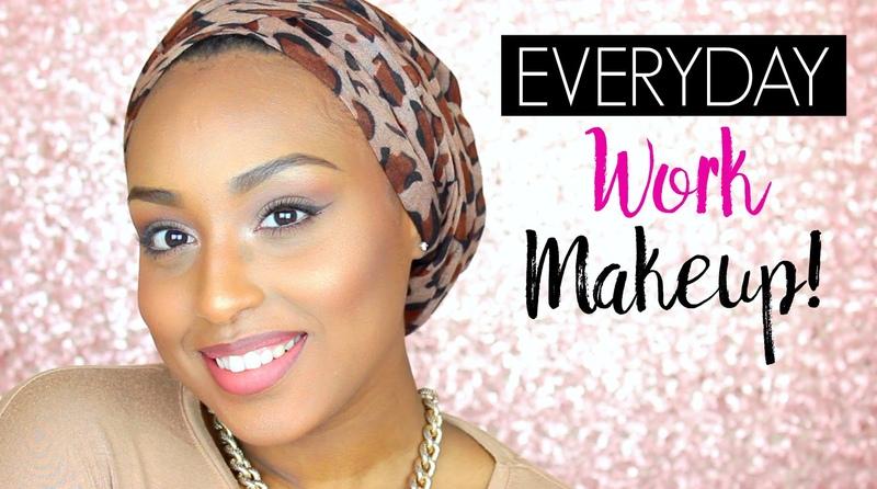 Everyday WORK Makeup Tutorial | Aysha Abdul
