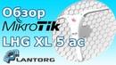 MikroTik LHG XL 5 ac – обзор 5GHz, 802.11ac точки доступа