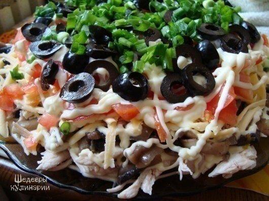Топ-5 салатиков! (5 фото) - картинка