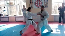 Exercise for training dzenkutsu dachi seminar World Champion WKF Hoang Nguyen Ngan