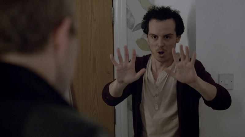 Мориарти притворяется актёром. Шерлок подкатывает к Молли. Шерлок. 2012