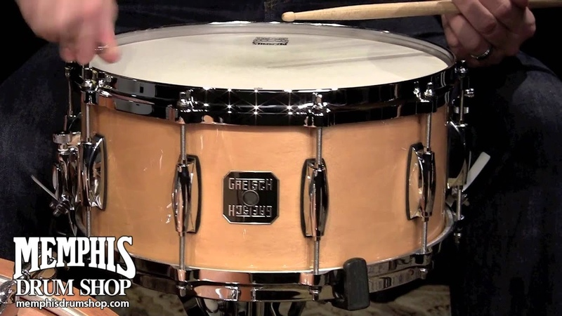 Gretsch 14 x 6 5 10 Ply Maple Snare Drum Natural