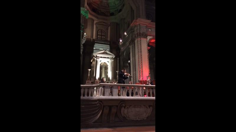 Вивальди на концерте во Флоренции