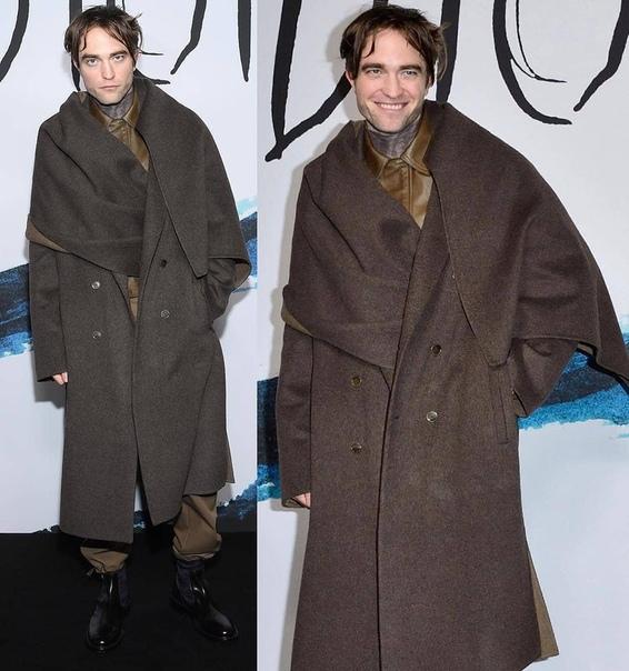 "Роберт Паттинсон на показе ""Dior""!"