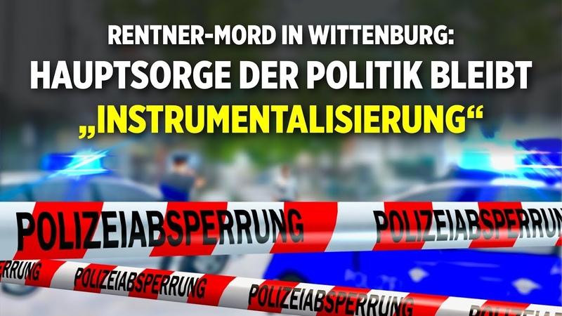 """Rentner-Mord in Wittenburg: Hauptsorge der Politik bleibt """"Instrumentalisierung"""""""