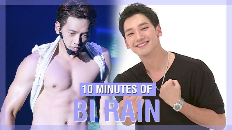10 MINUTES OF BI RAIN'S FUNNY MOMENTS