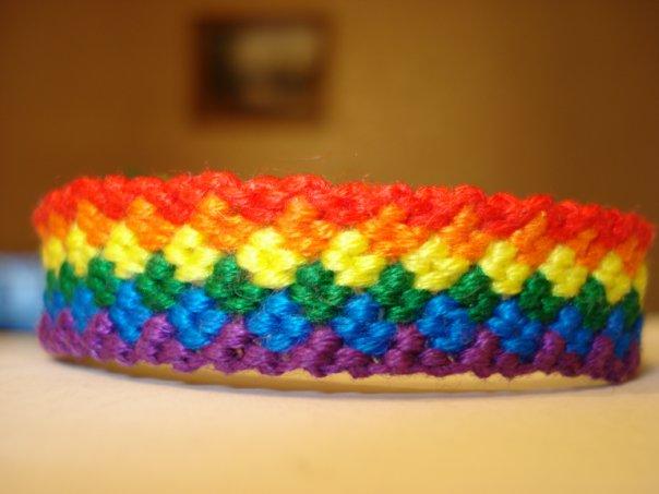 плетение классической фенечки