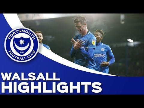 • Sky Bet League One Портсмут 2 0 Уолсолл