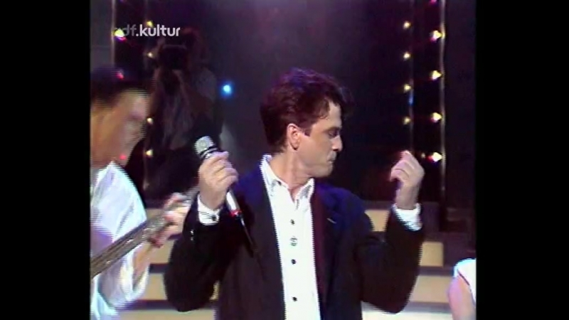 Les McKeown - Shes A Lady (ZDF, Hitparade, 15.06.1988)