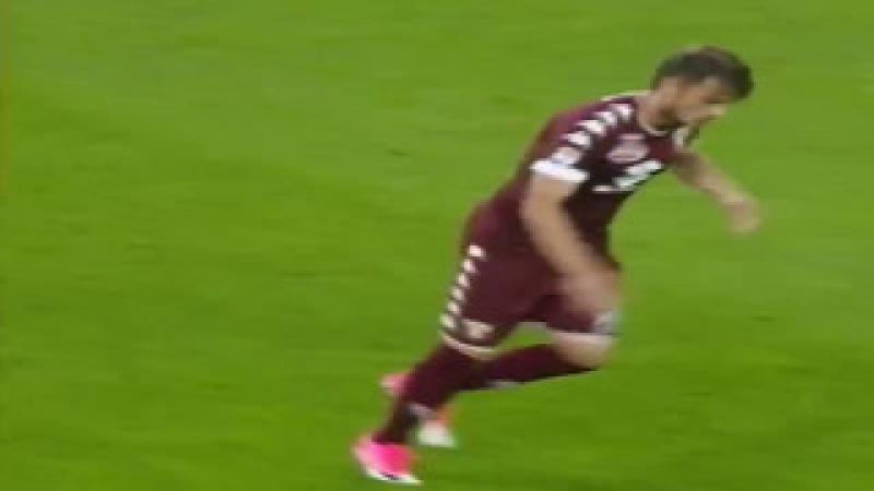 Juventus vs Torino 1-1 Adem Ljajic Amazing Free Kick