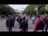 зомби колорады ватниками БТР пытаются остановить