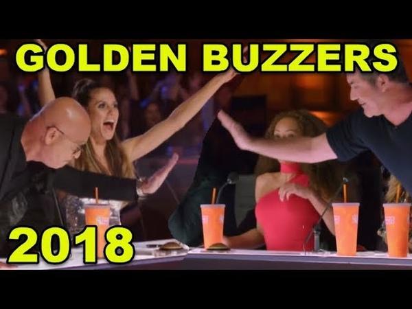 GOLDEN BUZZERS 2018! 5 Best
