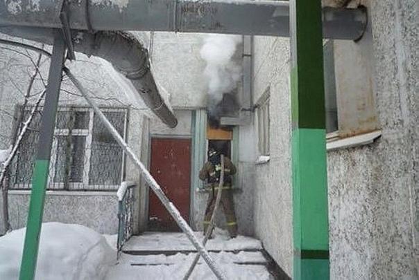 Пожар 03.02.2018 в школе искусств №2