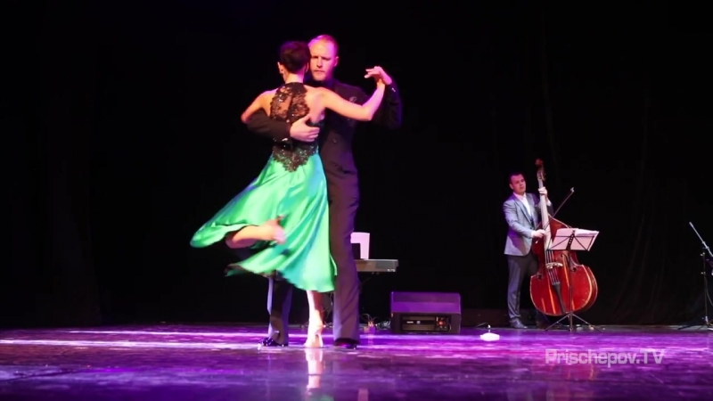 Frolov Alexandr Mariia Frolova, Tango En Vivo orq, 1, Milonguero Nights in Moscow 2018