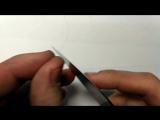 Тест заточки ножа. Рез волоса.