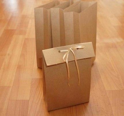 Подарочный пакетик своими руками без выкройки…. (10 фото)