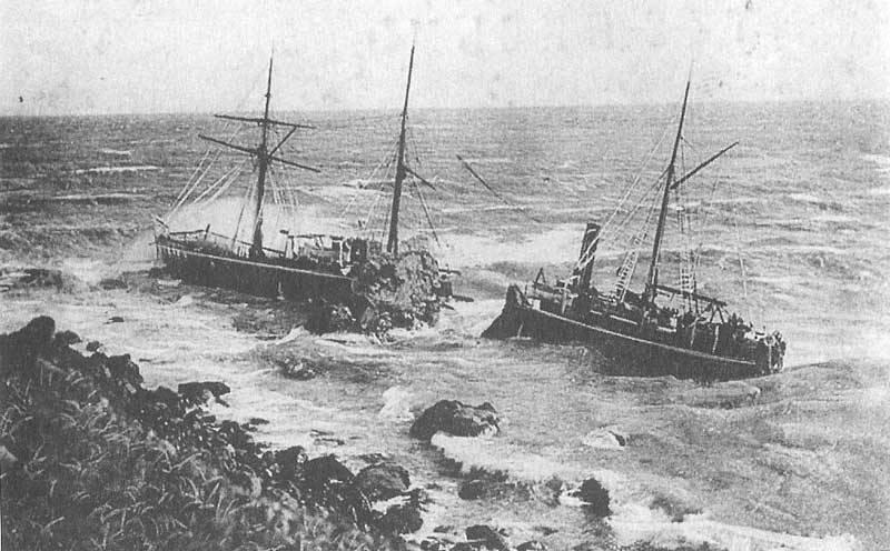 """Товарный пароход """"Дир"""". 14 декабря 1887 года"""