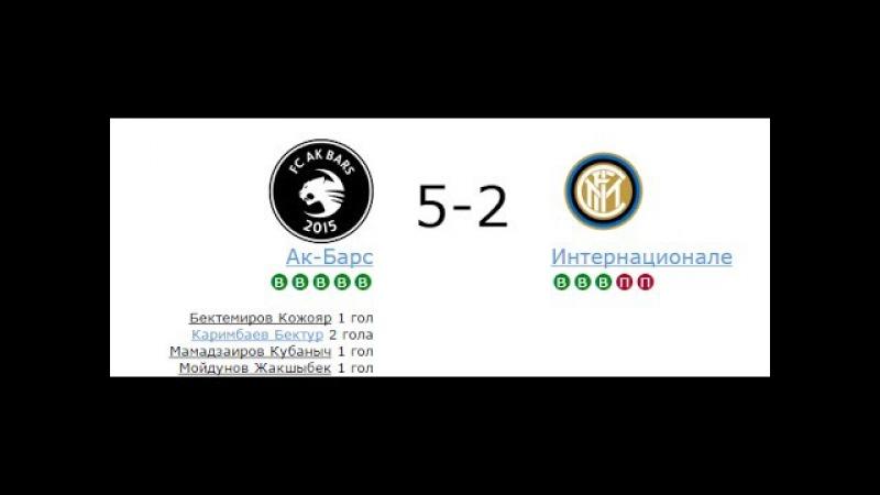 МФЛ. ЮАО. 2 дивизион. АК-Барс - Интернационале