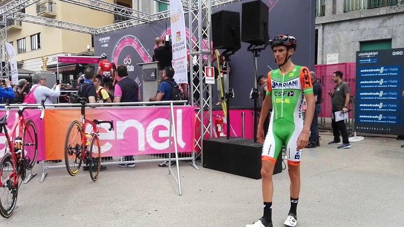 Giro d'Italia 2018, partenza tappa da Agrigento (2)