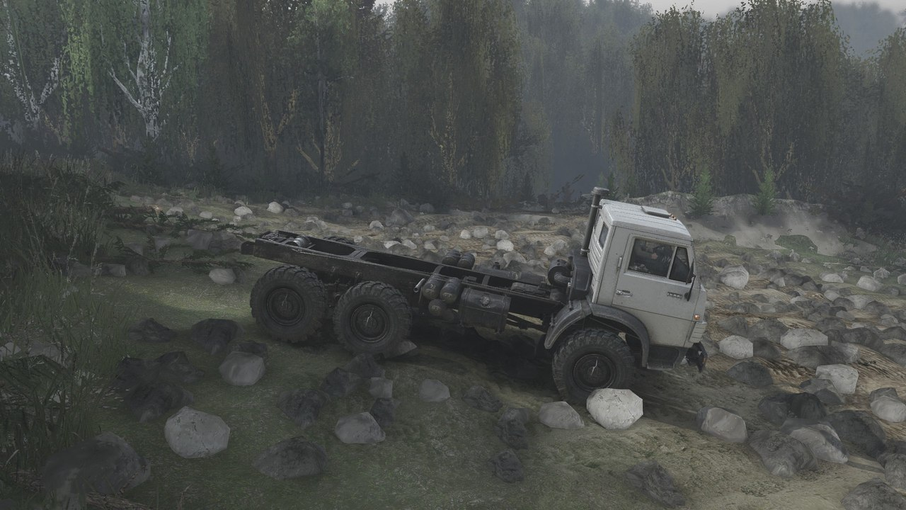 "Карта ""There will be blood"" для 25.12.15 для Spintires - Скриншот 1"