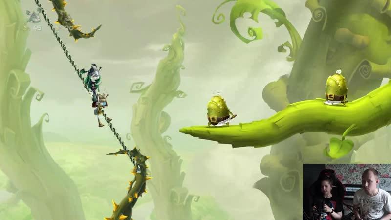 Rayman Legends с Костей 14.05.19