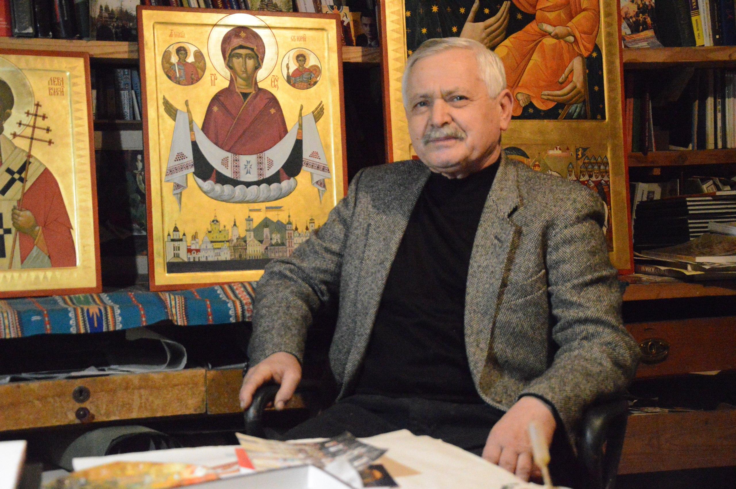 Роман ВАСИЛИК. Про ікони, життєвий шлях і містки між людиною й Богом