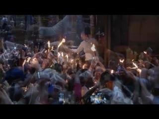 НТВ в прямом эфире покажет схождение Благодатного огня