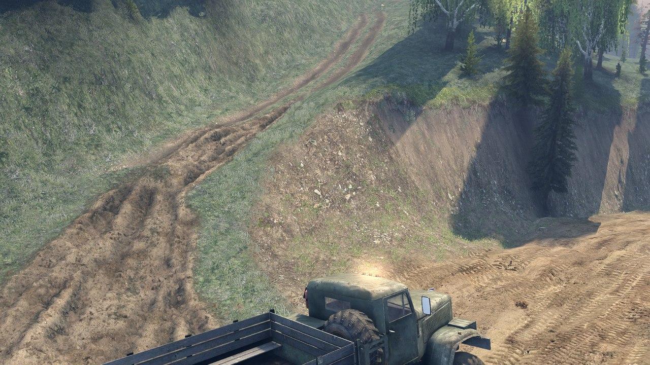 """Карта """"Озера"""" для Spintires - Скриншот 3"""