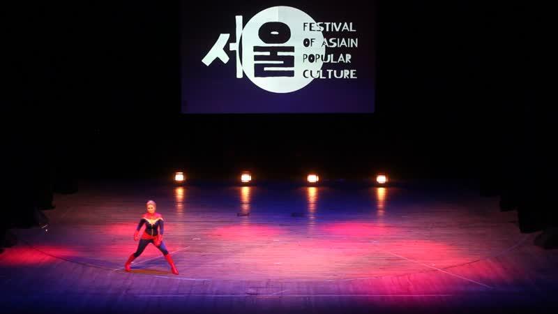 Neko Captain Marvel Marvel Кинешма FAP 2019. Festival of Asian Popular culture