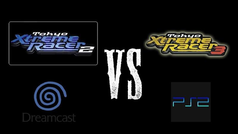 Dreamcast Tokyo xtreme racer 2 VS PlayStation 2 Tokyo xtreme racer 3