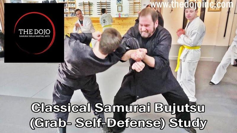 Class Clips of Grab Defenses - Samurai Ninja Martial Arts at The Dojo