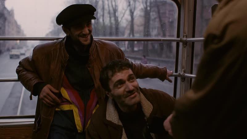 Брат (Алексей Балабанов, 1997). Эпизод Не брат ты мне, гнида черножопая. HD