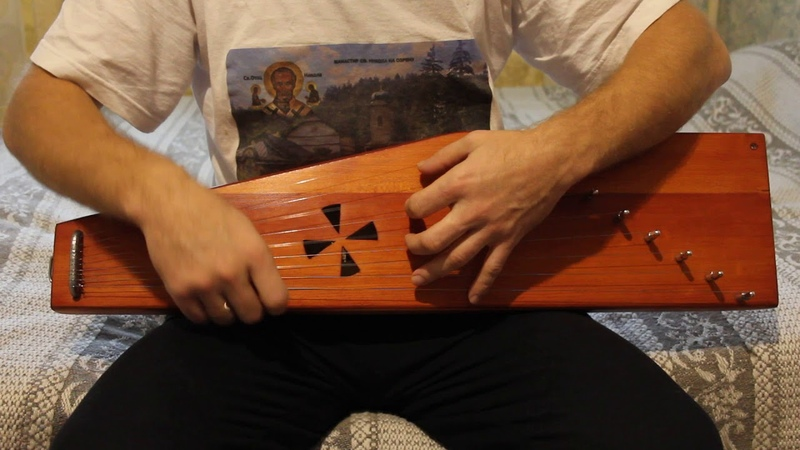 Гусли крыловидные Новгородские Пример звучания