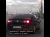 В Новосибирске джип на скорости вылетел на встречку