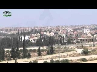 حلب ــ استهداف معاقل ميليشيات الاسد و حالش &#